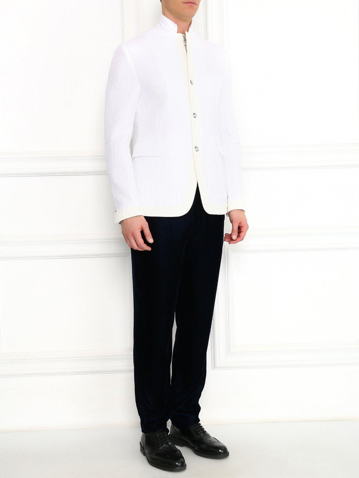 Куртка стеганая на молнии Moncler  –  Модель Общий вид