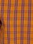 Платье-мини из хлопка декорированное пайетками N21  –  Деталь