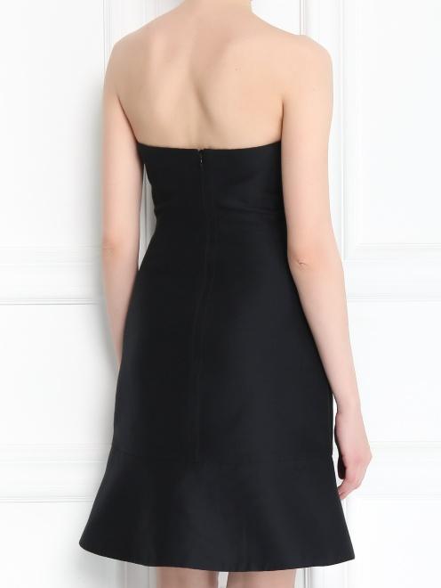 Платье-мини из смешанного шелка - Модель Верх-Низ1