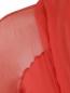 Платье-макси из шелка с драпировкой Alberta Ferretti  –  Деталь