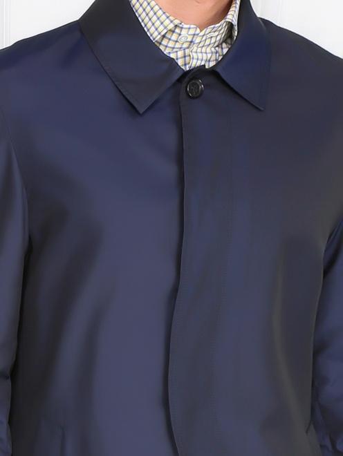 Плащ с боковыми карманами - Модель Общий вид1