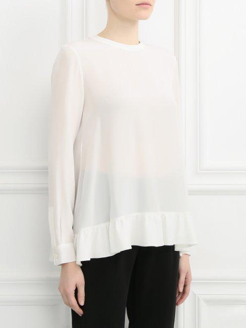 Блуза из шелка - Модель Верх-Низ