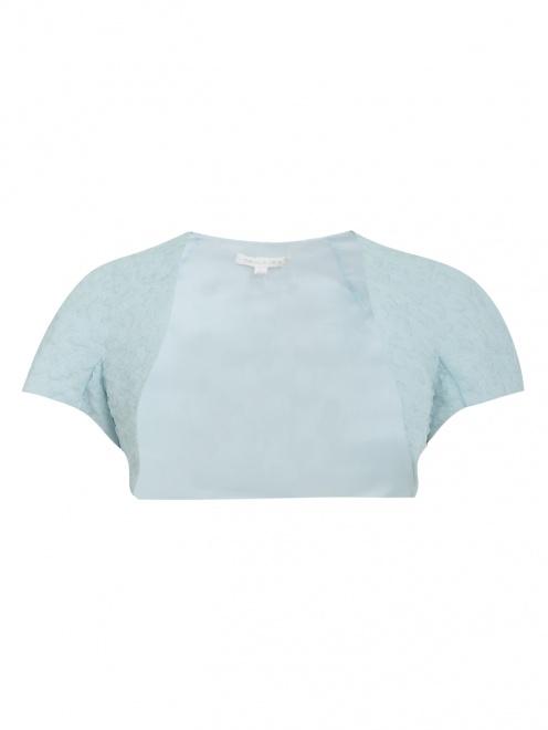 Болеро из фактурной ткани - Общий вид