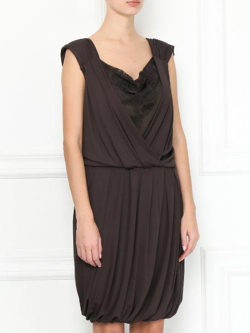Платье без рукавов - МодельВерхНиз