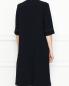Платье-миди с контрастной отстрочкой Marina Rinaldi  –  МодельВерхНиз1