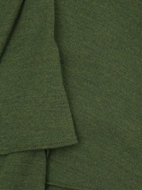 Платье шерстяное - Деталь