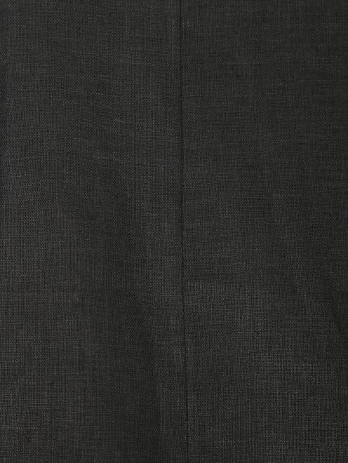 Брюки-кюлоты из льна с кружевной отделкой - Деталь
