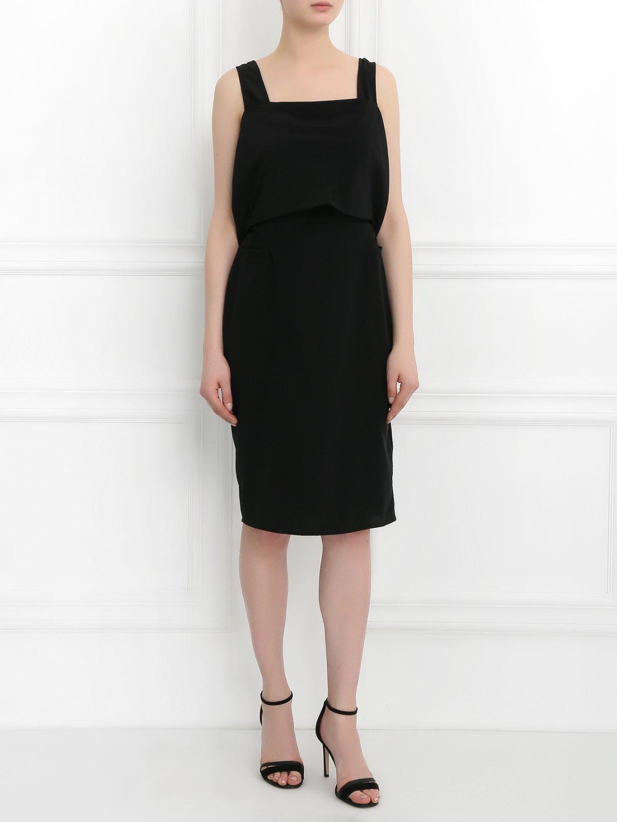 Платье-мини с драпировкой Maurizio Pecoraro  –  Модель Общий вид