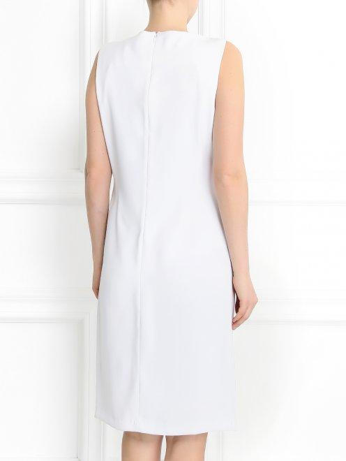 Платье свободного кроя с драпировкой - Модель Верх-Низ1