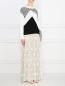 Юбка-макси с кружевной вставкой Blugirl Blumarine  –  Модель Общий вид