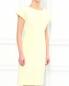 Платье-миди  свободного фасона из смешанного хлопка Jil Sander  –  Модель Верх-Низ