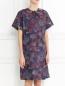 Платье-мини из хлопка с узором Paul Smith  –  Модель Верх-Низ