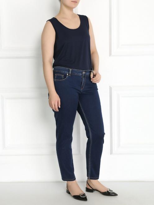 Укороченные джинсы - Общий вид
