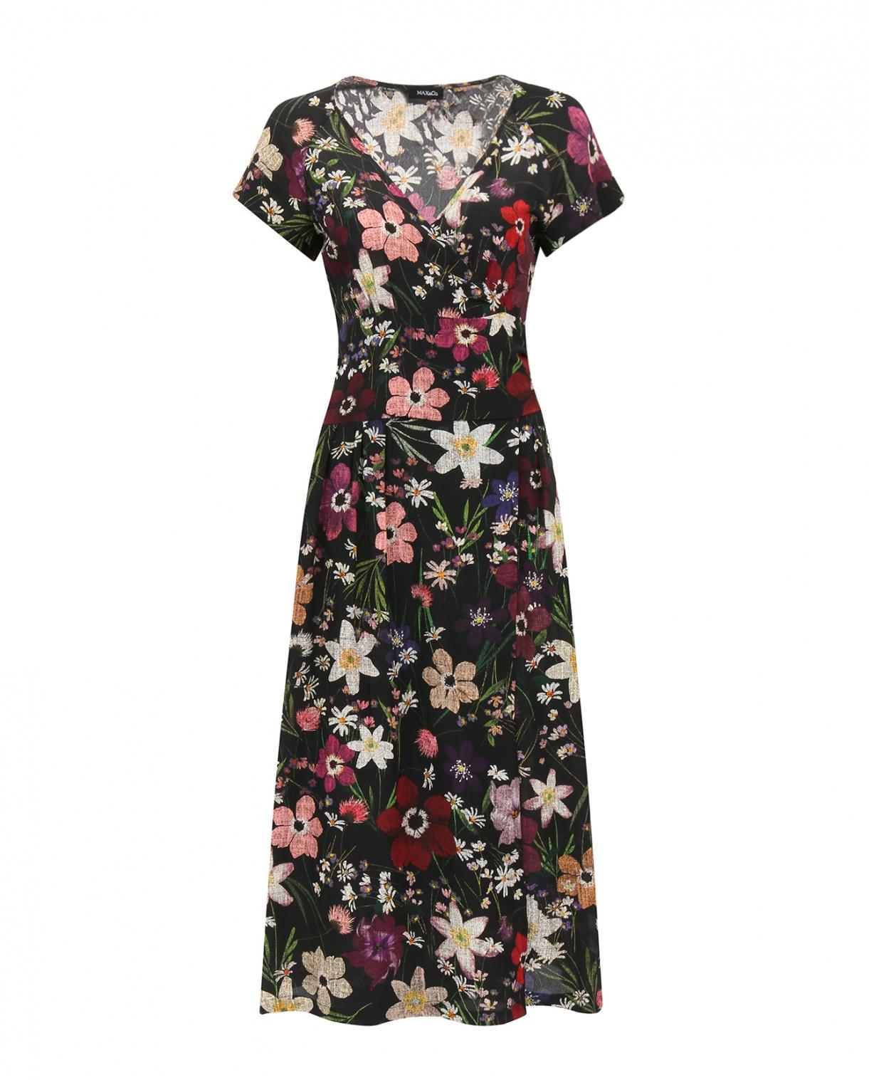 Платье с запахом из шелка Max&Co  –  Общий вид