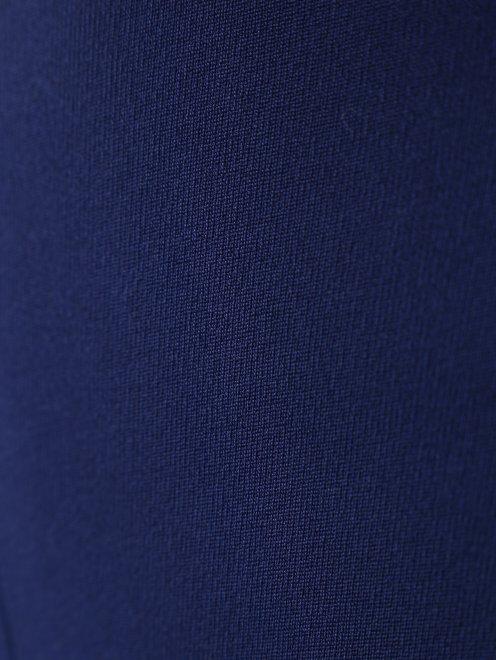 Юбка-миди с контрастными вставками плиссировки - Деталь1