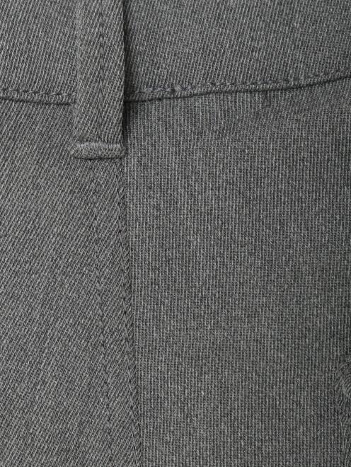 Брюки из смешанной шерсти с накладными карманами  - Деталь1