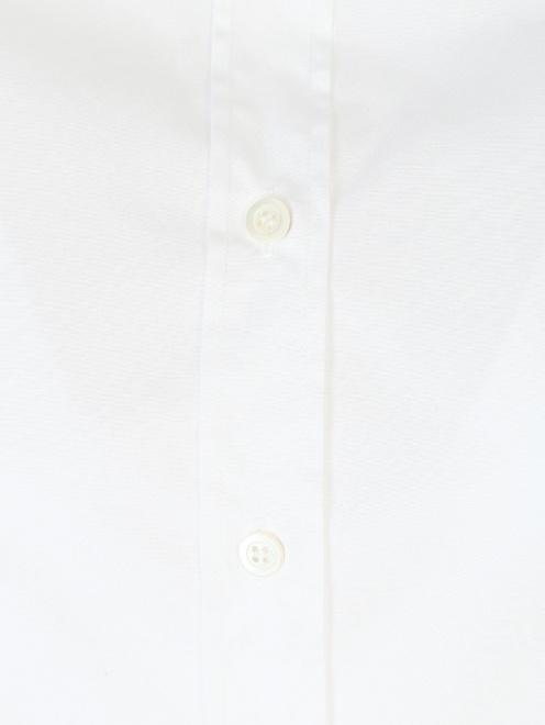 Рубашка из хлопка укороченная - Деталь