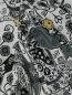 Блуза из хлопка с узором Isabel Marant  –  Деталь