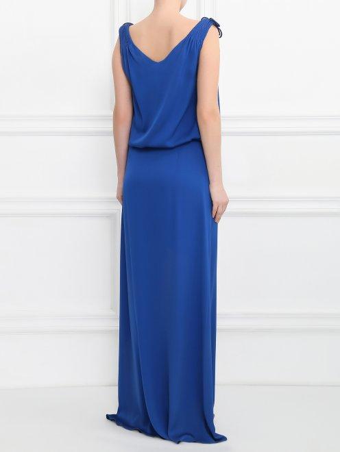 Платье-макси из шелка  - Модель Верх-Низ1