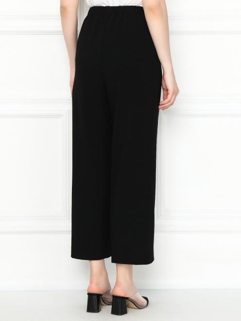 Укороченные брюки на резинке с карманами - МодельВерхНиз1