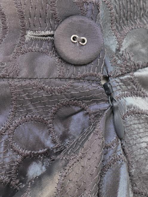 Асимметричная юбка с драпировкой - Деталь
