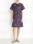 Платье-мини из хлопка с узором Paul Smith  –  Модель Общий вид