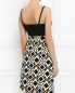Платье без рукавов с узором Guess by Marciano  –  Модель Верх-Низ1