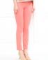 Узкие брюки из хлопка с боковыми карманами Moschino Cheap&Chic  –  Модель Верх-Низ