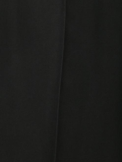 Брюки свободного кроя из шелка на резинке - Деталь