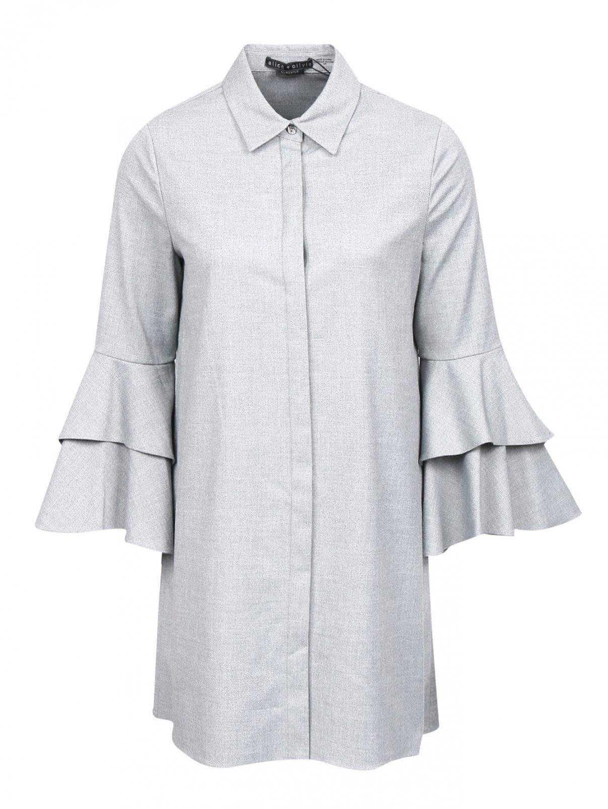 Платье-мини прямого кроя Alice+Olivia  –  Общий вид