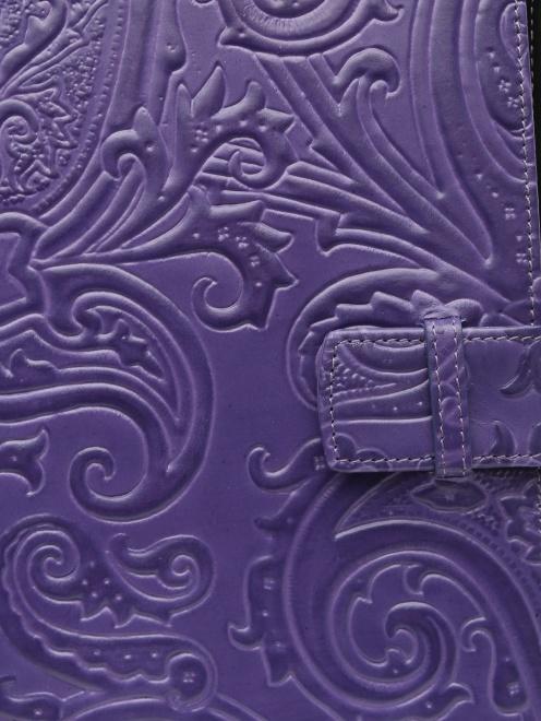 Чехол для iPad из кожи с тиснением - Деталь