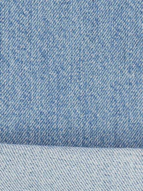 Джинсы из светлого денима с потертостями - Деталь2
