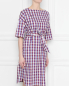 Платье хлопковое в клетку Bosco Fresh  –  МодельВерхНиз
