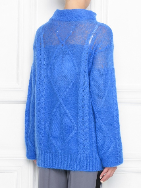 Удлиненный свитер из шерсти - МодельВерхНиз1