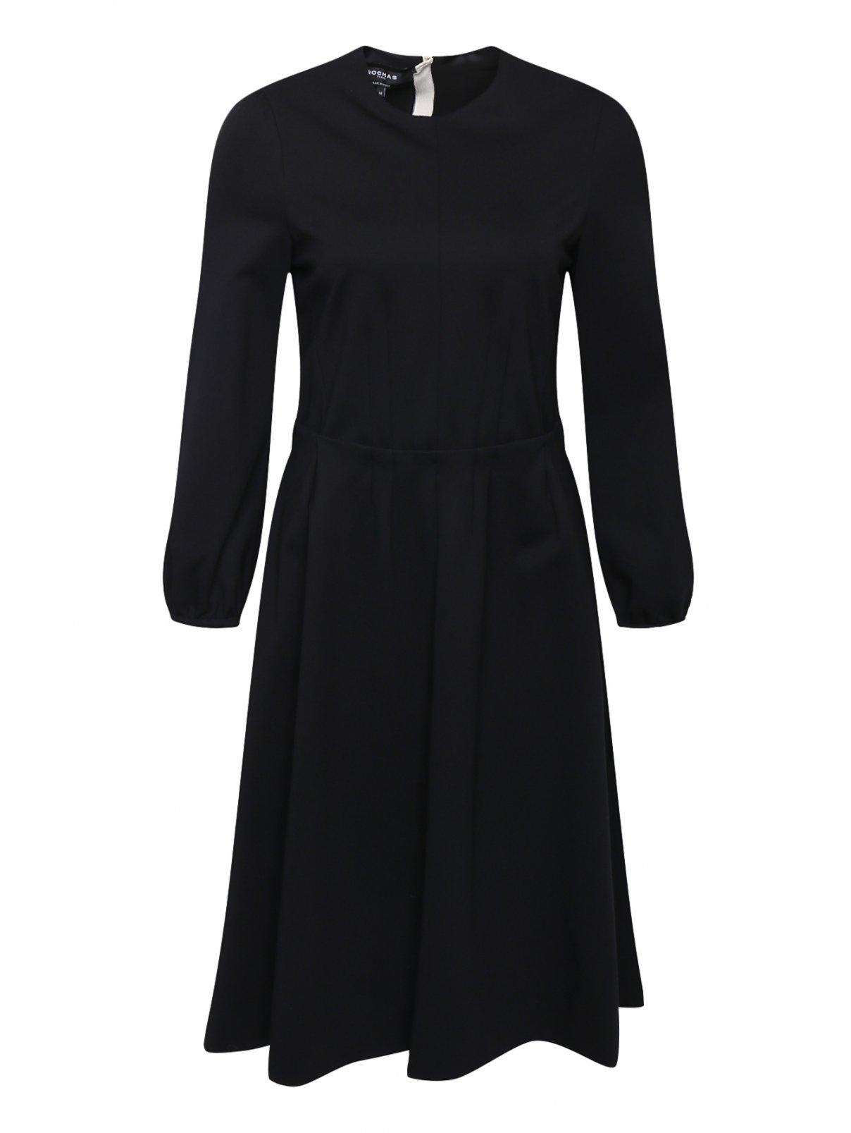 Платье-миди с драпировкой Rochas  –  Общий вид
