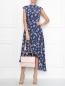 Платье-макси из шелка с узором без рукавов Weekend Max Mara  –  МодельОбщийВид