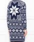 Платье-мини из смешанной шерсти с узором Love Moschino  –  МодельВерхНиз1
