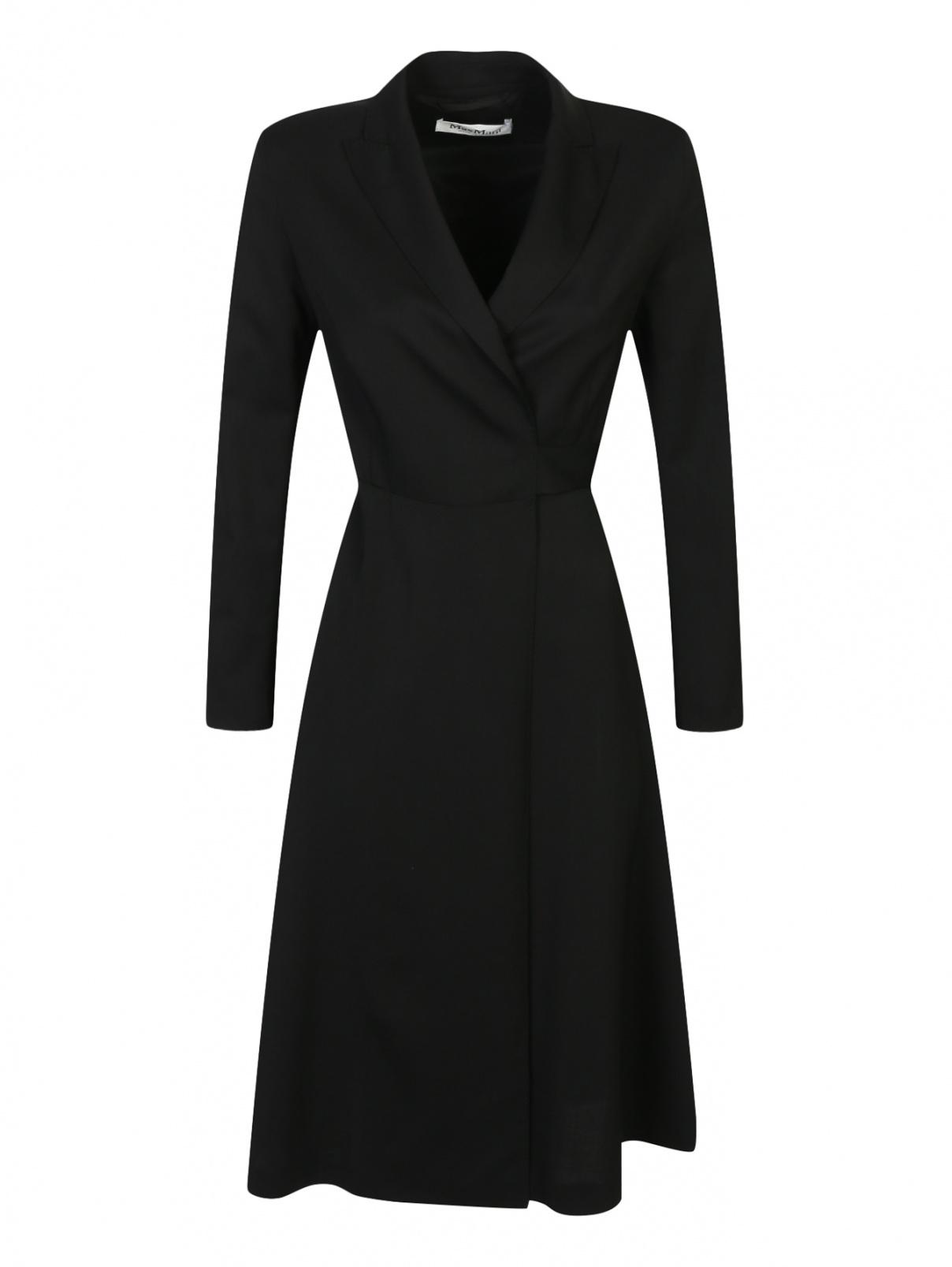 Платье из шерсти с запахом Max Mara  –  Общий вид