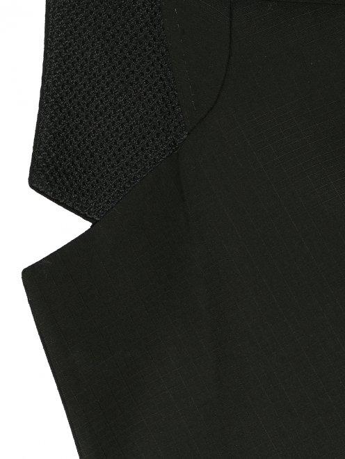 Пиджак однобортный из тонкой шерсти - Деталь1