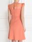 Платье-мини с воланами Max&Co  –  Модель Верх-Низ1