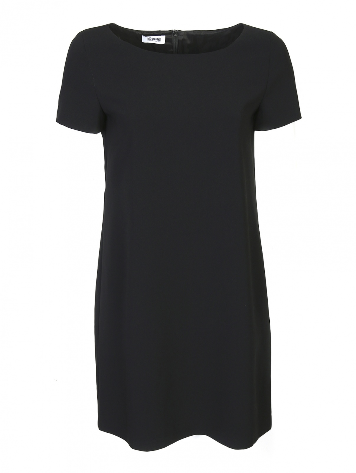 Платье-мини с короткими рукавами Moschino Cheap&Chic  –  Общий вид