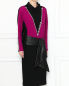 Платье-миди из шерсти с декоративной отделкой Marc Jacobs  –  МодельВерхНиз