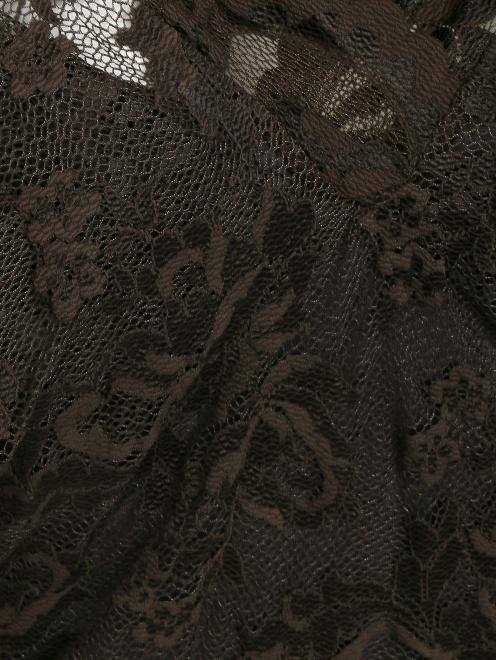 Кружевное платье-футляр - Деталь