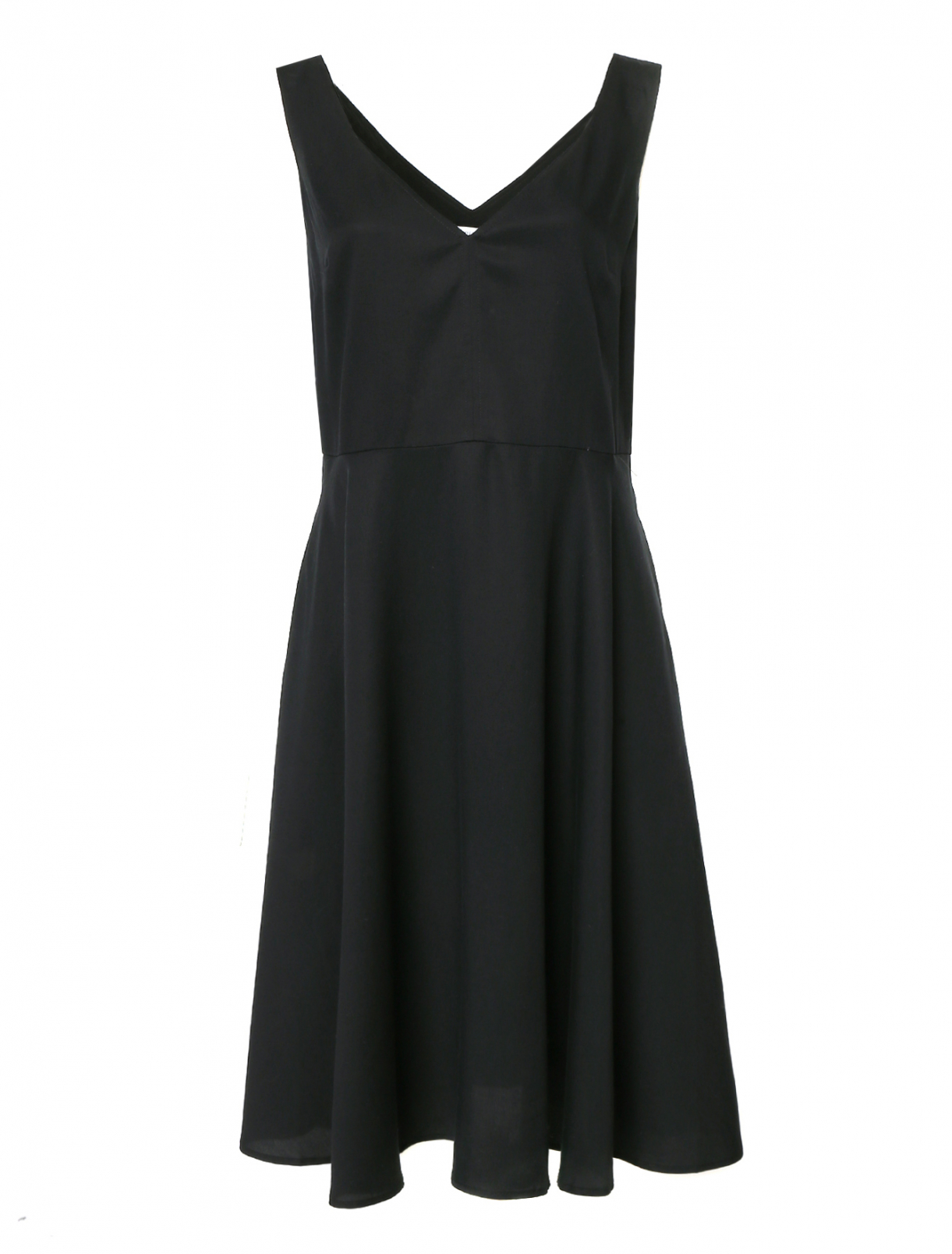 Платье с расклешенной юбкой Calvin Klein Jeans  –  Общий вид
