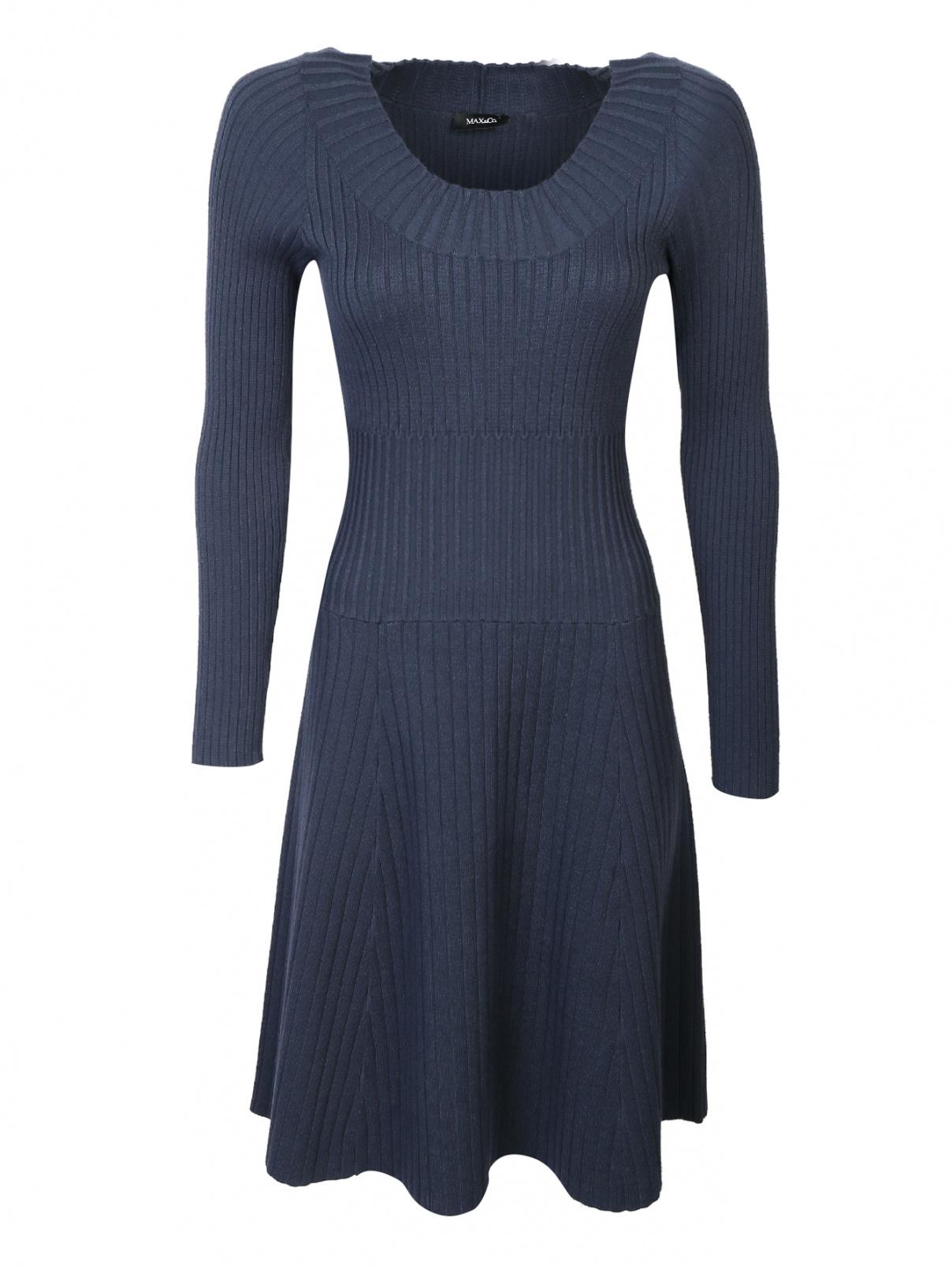 Платье-миди, трикотажное, из вискозы Max&Co  –  Общий вид
