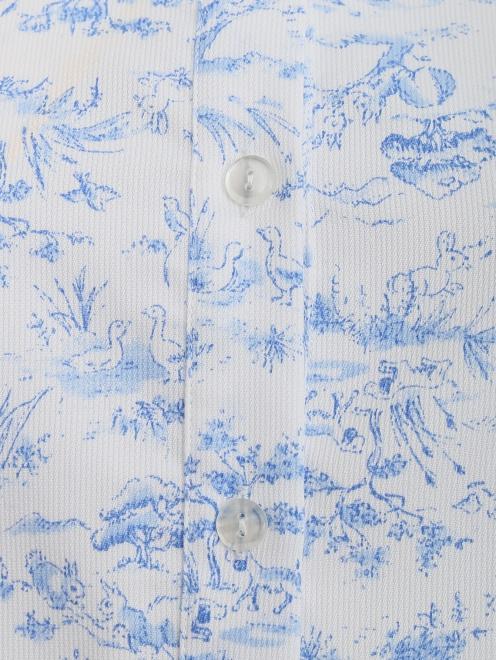 Платье-мини с коротким рукавом - Деталь1
