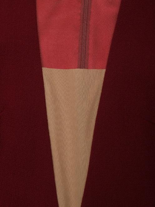 Платье приталенное, из шерсти - Деталь