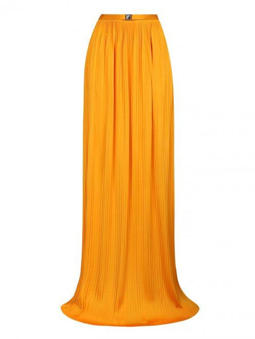 Плиссированная юбка-макси - Общий вид