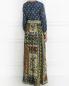 Платье-макси с узором Alberta Ferretti  –  Модель Верх-Низ1