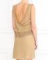Платье из шелка с кружевной отделкой Alberta Ferretti  –  Модель Верх-Низ1